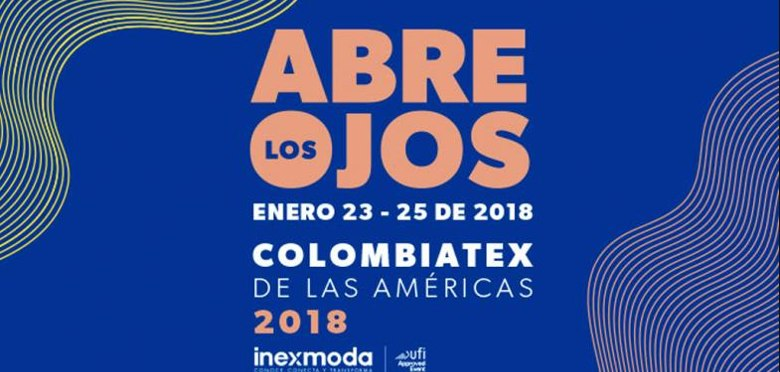 DINEMA S.p.A. will be part of the Colombiatex 2018 trade fair, which will take place in the Medellìn's Expo Center from 23th to 25th of January 2018, Red pavilion, stand n.130.